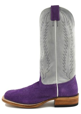 Fenoglio Boot Company Purple Roughout Ladies Boot