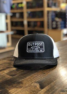Richardson Outpost Richardson 112 Cap Black/White OS