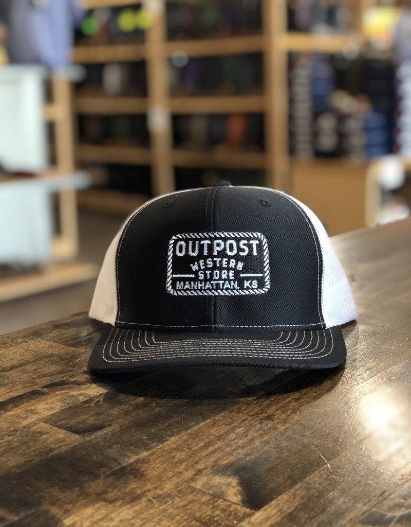 Richardson Outpost Boots | Outpost Richardson 112 Cap Black/White OS