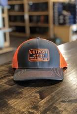 Richardson Outpost Boots | Outpost Richardson 112 Cap Orange/Gray OS