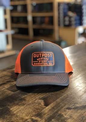 Richardson Outpost Richardson 112 Cap Orange/Gray OS