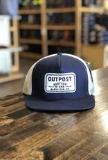 Outpost 5-Panel Trucker Cap Navy/White OS