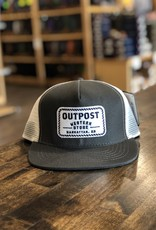 Outpost 5-Panel Trucker Cap Charc/White OS