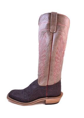 Olathe Boot Co. Nicotine Elephant Ear Boot