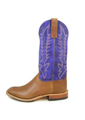 Anderson Bean Boot Company Camel / Purple Bison Boot