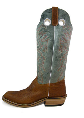 Olathe Boot Co. Tobacco Yeti Tall Top Boot
