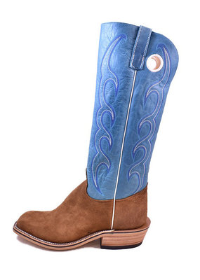 Olathe Boot Co. Ryan Rust Roughout Tall Top Boot