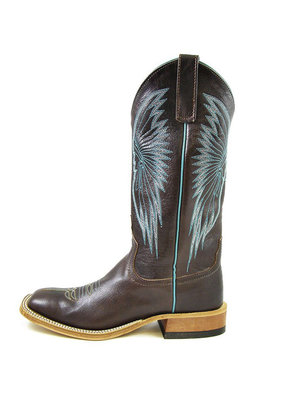 Anderson Bean Boot Company Chocolate Crash Goat Ladies Boot