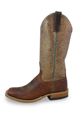 Anderson Bean Boot Company Coffee Bison Ladies Boot