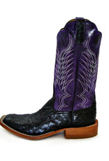 Rios of Mercedes Rios of Mercedes | Black Full Quill Ostrich Boot