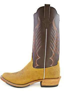 Rios of Mercedes Crazyhorse Rust Boot