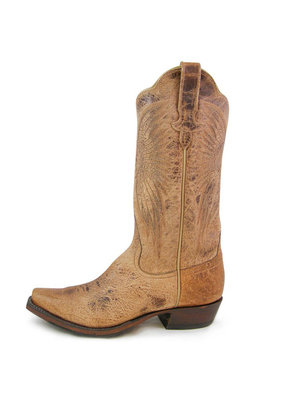 "Rios of Mercedes 13"" Tan Mad Cat Ladies Boot"