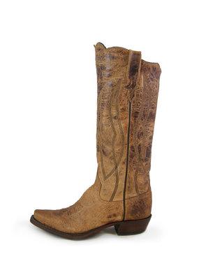 """Rios of Mercedes 15"""" Tan Mad Cat Ladies Boot"""