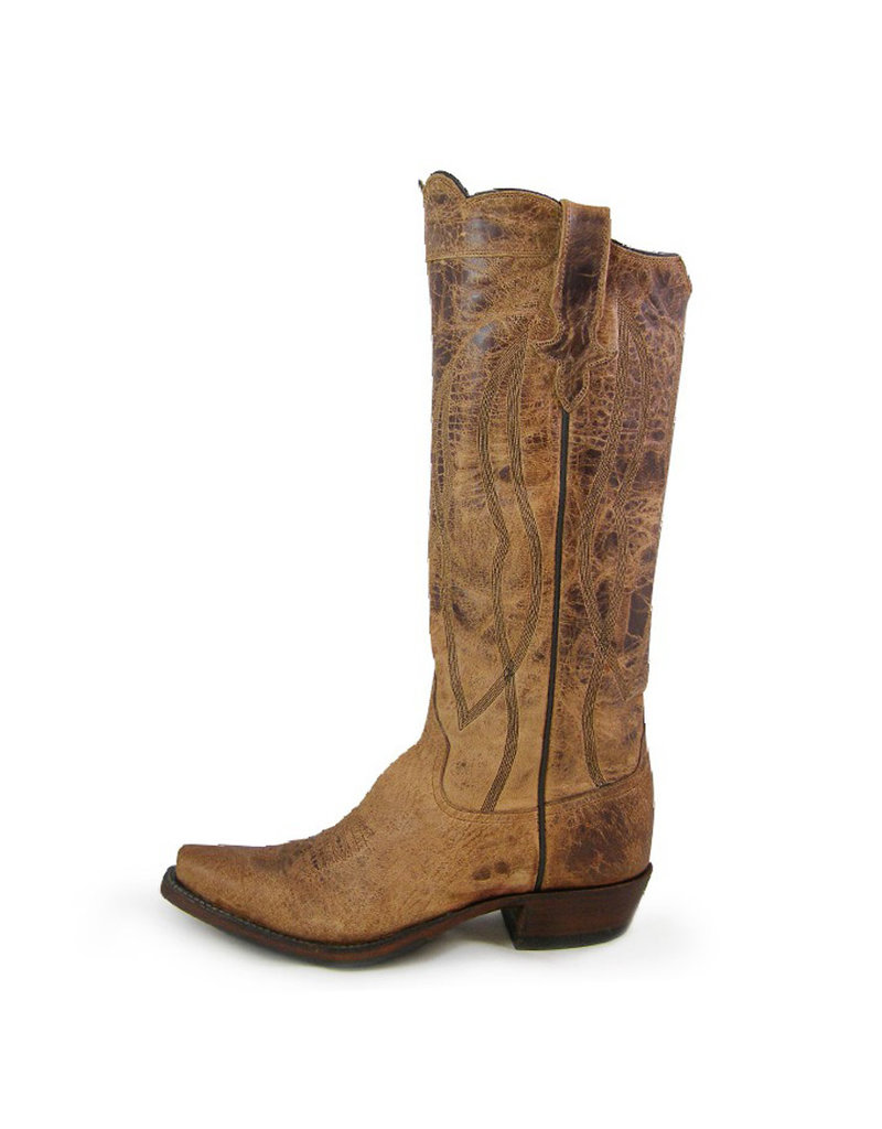 "Rios of Mercedes Rios of Mercedes | 15"" Tan Mad Cat Ladies Boot"