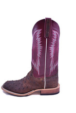 Anderson Bean Boot Company Anderson Bean | Kango Tobacco Mojave Full Quill Ostrich Ladies Boot