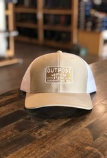 Richardson Outpost Richardson 112 Cap Khaki/White