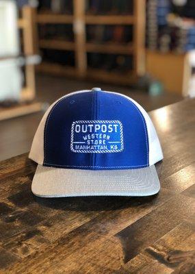 Richardson Outpost Richardson 112 Cap Roy/Gry/Wht OS
