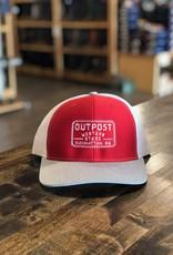 Outpost Richardson 112 Cap Red/Grey/White