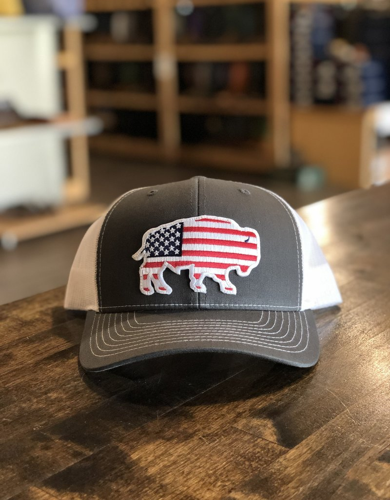 Red Dirt Hat Co. Red Dirt Hat Co. USA Buffalo Cap
