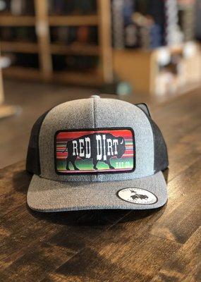 Red Dirt Hat Co. Red Dirt Hat Co. Serape Blk Buffalo Cap