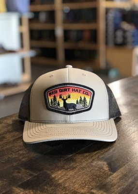 Red Dirt Hat Co. Red Dirt Hat Co. Khaki Coffee Deer Hat