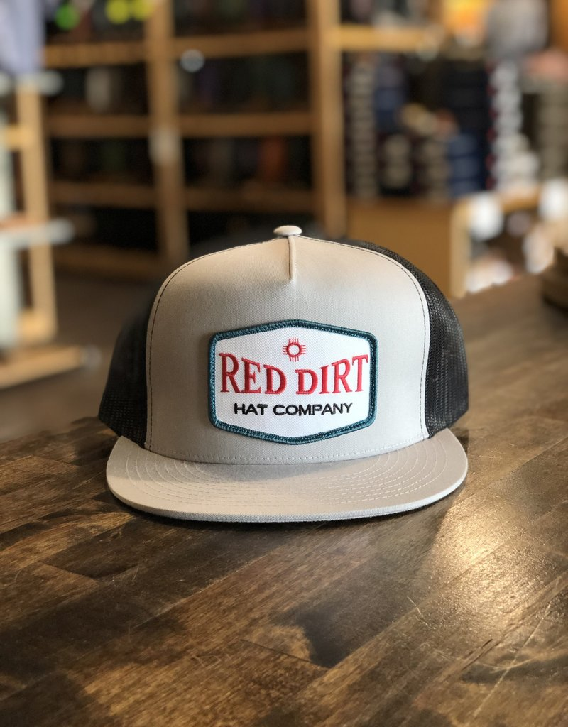 Red Dirt Hat Co. Red Dirt Hat Co. Allsups Heather Trucker Cap Grey/Black OS