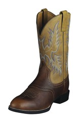 Ariat International, Inc. Ariat | Barrel Brown Heritage Stockman Boot