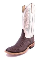 Anderson Bean Boot Company Anderson Bean | Chocolate Lux Hornback Caiman Boots