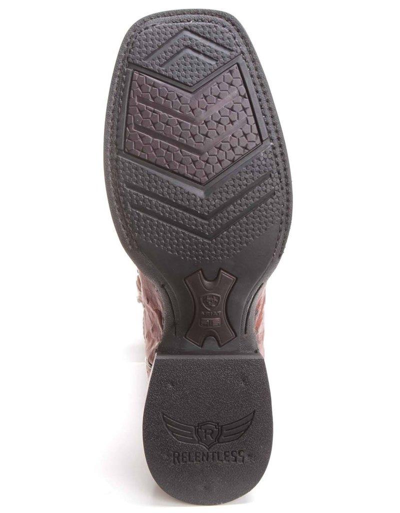 Ariat International, Inc. Ariat | Relentless Tan Full Quill Ostrich Boot