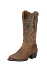 Ariat International, Inc. Ariat | Brown Heritage Western R Toe Boot