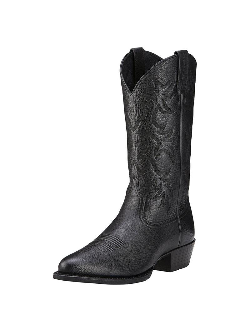 Ariat International, Inc. Ariat | Black Heritage Western R Toe Boot