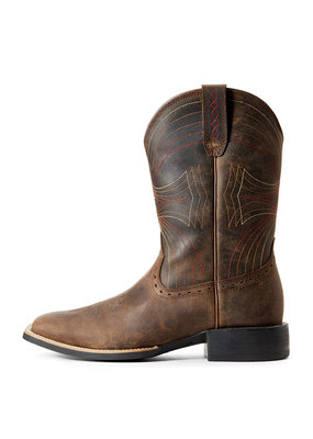 Ariat International, Inc. Ariat | Distressed Brown Sport Wide Square Toe Boot