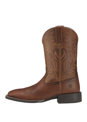 Ariat International, Inc. Ariat | Fiddle Brown Sport Wide Square Toe Boot