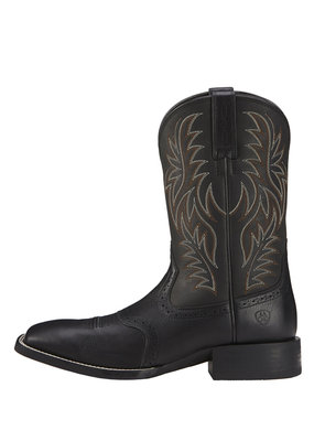 Ariat International, Inc. Ariat | Black Sport Wide Square Toe Boot