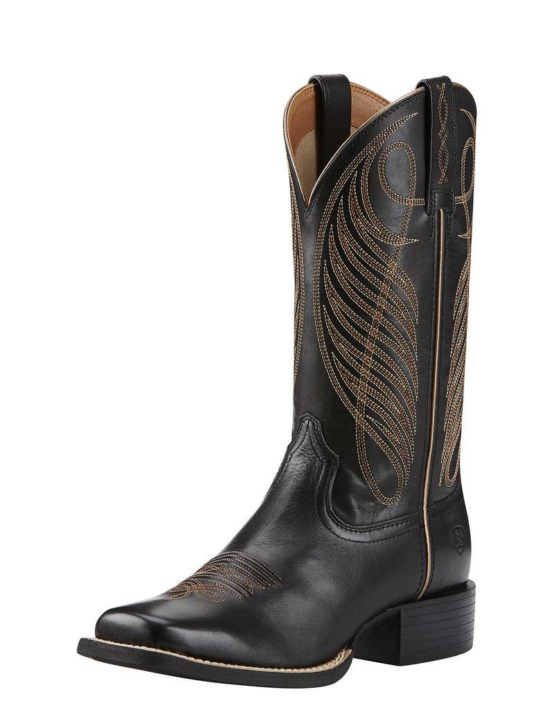 Ariat International, Inc. Ariat | Ladies Black RoundUp Boot