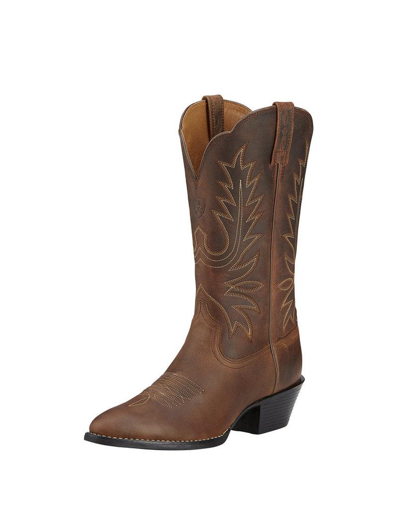 Ariat International, Inc. Ariat | Ladies Brown Heritage R Toe Boot Boot