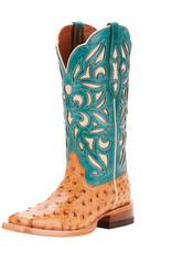 Ariat International, Inc. Ariat | Ladies Light Oak Full Quill Ostrich Boot