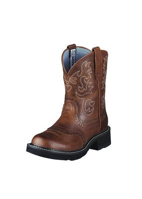 Ariat International, Inc. Ariat | Ladies Russet Rebel Fatbaby Saddle Boot
