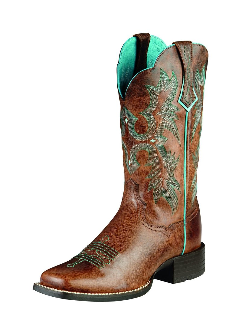 Ariat International, Inc. Ariat | Ladies Sassy Brown Tombstone Boot