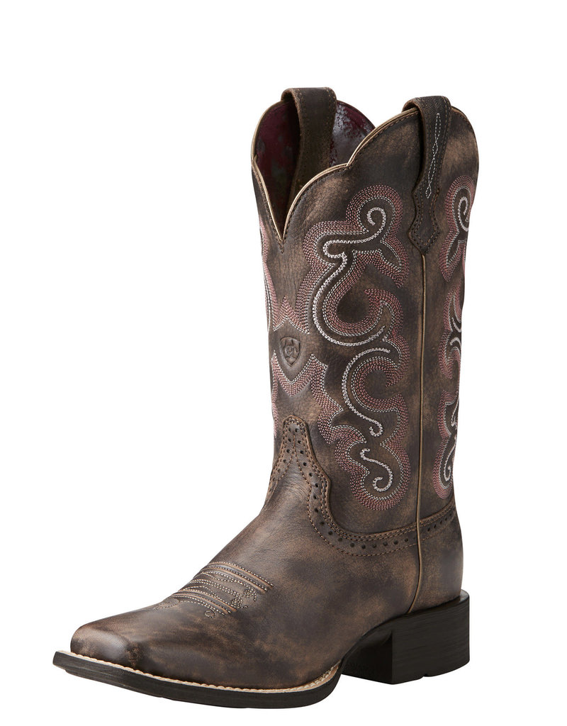 Ariat International, Inc. Ariat | Ladies Tack Room Chocolate Quickdraw Boot
