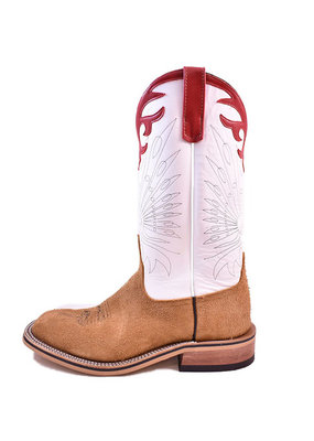 Anderson Bean Boot Company Anderson Bean | Tan Ryan Roughout Ladies Boot