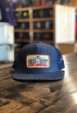 Red Dirt Hat Co. Red Dirt Hat Co Tag T-Bird Denim Trucker Cap