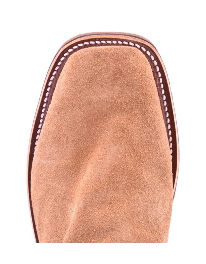 Olathe Boot Co. Olathe Tan | Porcupine Roughout Cutter-Toe Boot