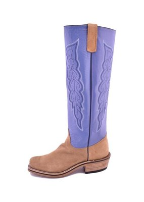 Olathe Boot Co. Olathe Tan   Porcupine Roughout Cutter-Toe Boot