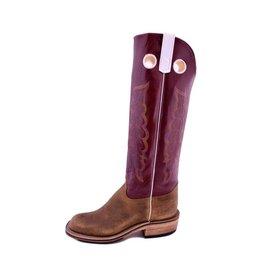 Olathe Boot Co. Olathe   Natural Brahma Bison Boot