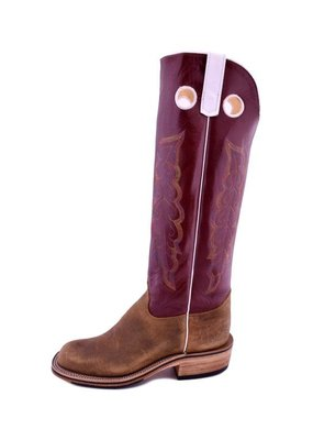 Olathe Boot Co. Olathe | Natural Brahma Bison Boot