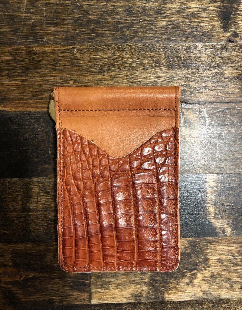 Anderson Bean Boot Company AB/Rios Caiman Money Clip Wallet