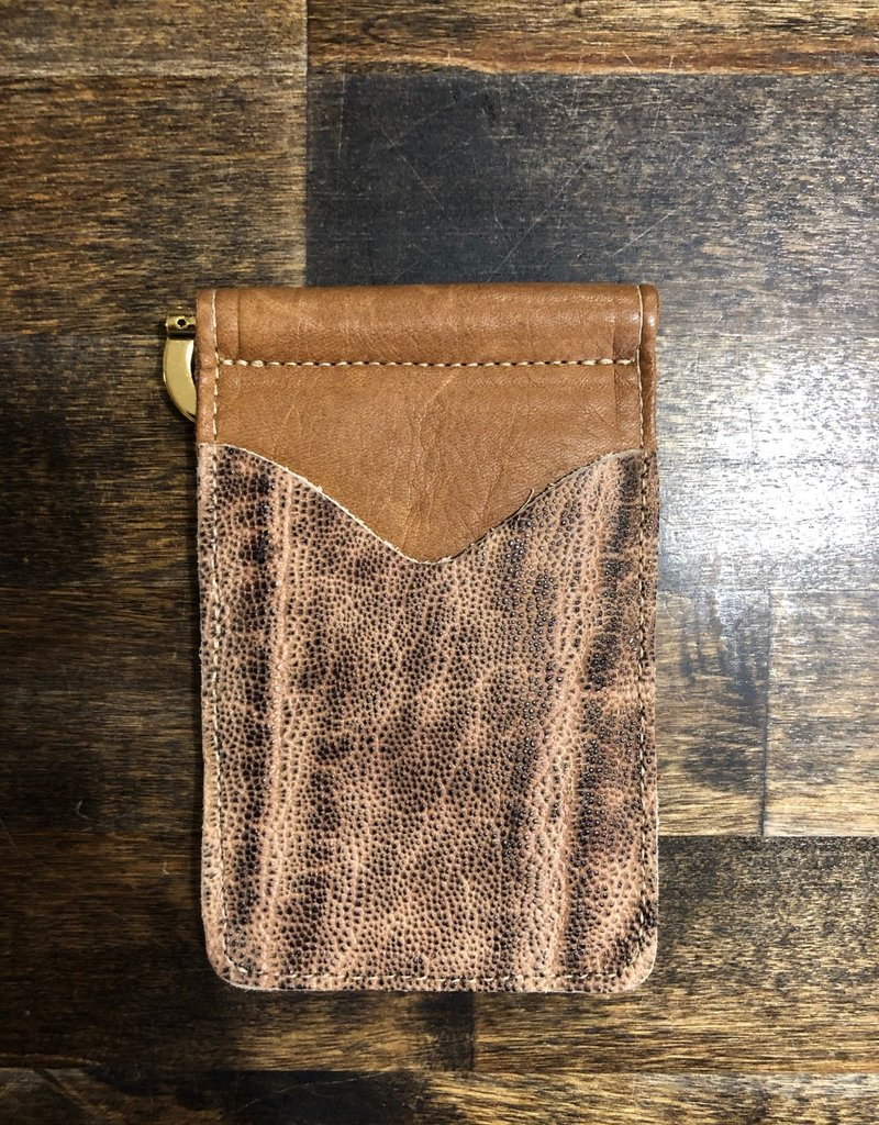 Anderson Bean Boot Company AB/Rios Elephant Money Clip Wallet