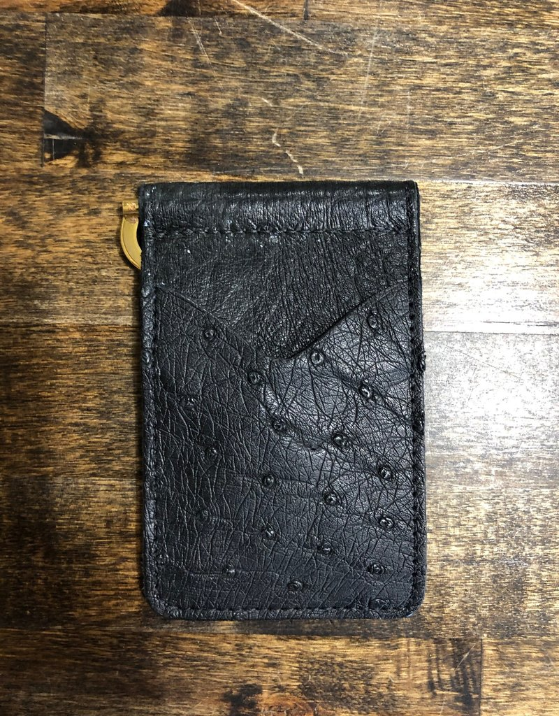 Anderson Bean Boot Company AB/Rios FQ Ostrich Money Clip Wallet