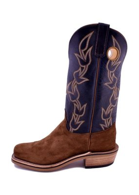 Olathe Boot Co. Olathe Boot Co | Latte & Bacon Roughout Boot